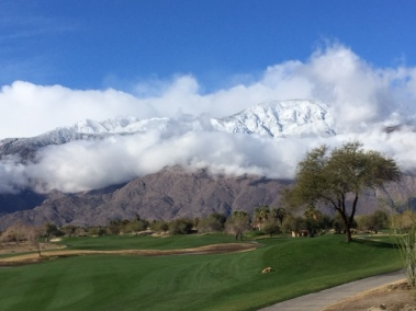 View from Palm Springs
